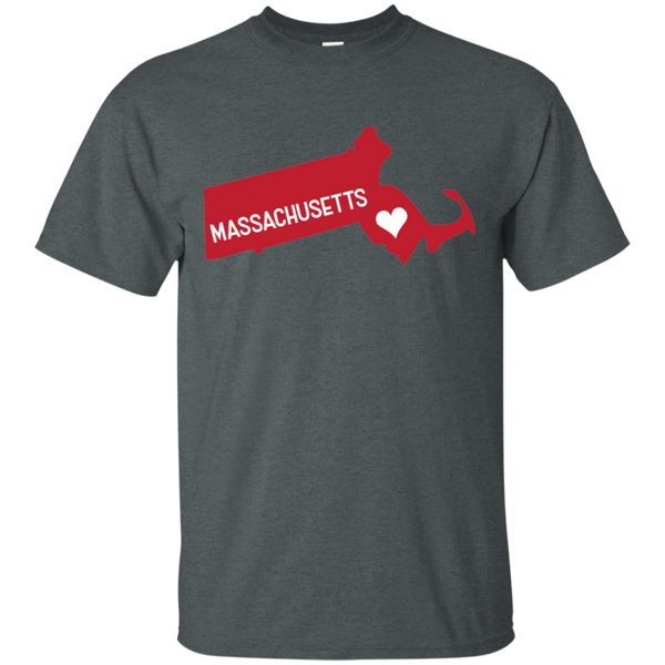 Home State Tshirt Massachusetts