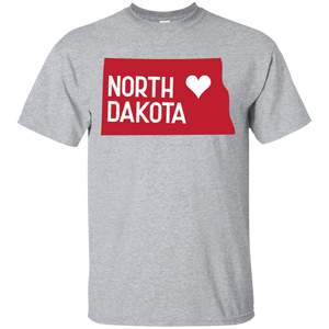 Home State Tshirt North Dakota