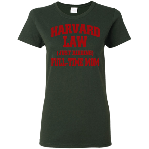 Harvard Law Mom Ladies Shirt