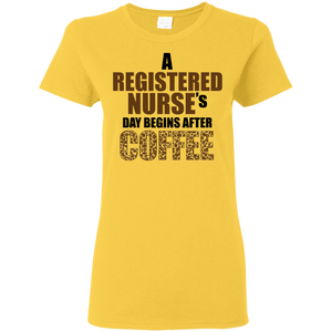 RN Coffee Ladies Shirt