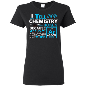 Chemistry Jokes - Ladies