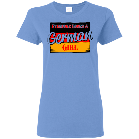 German Girl Ladies Shirt