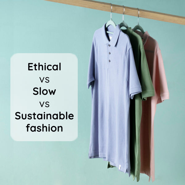Sustainable Fashion vs Slow Fashion vs Ethical Fashion - Familiarizing with the Concepts