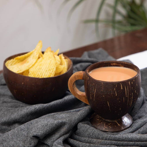coconut shell bowl coconut shell tea cup