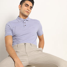 Load image into Gallery viewer, Dalisay Purple Organic Polo T-shirt