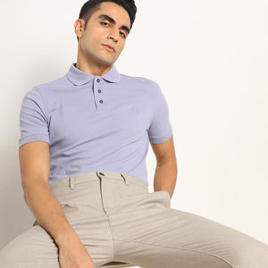 Dalisay Purple Organic Polo T-shirt