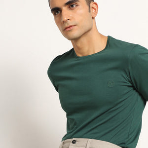 Mens tshirt in green