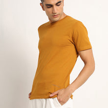 Load image into Gallery viewer, Organic mustard crew neck