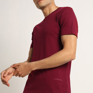 Round neck mens tshirt