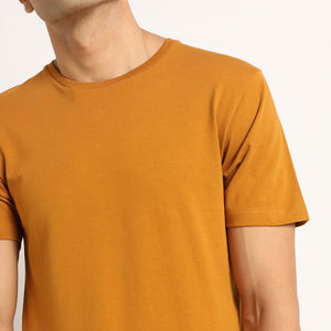 Organic round neck tshirts for men