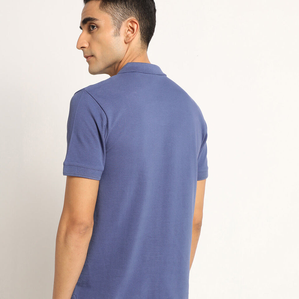 Load image into Gallery viewer, Blue polo tshirts