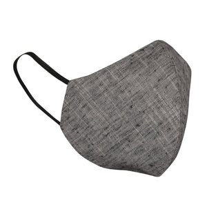 Grey Hand-Woven-Natural-Mask-Combo-Pack
