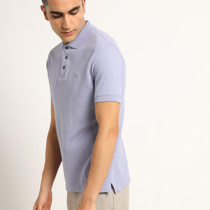 Polo tshirt in purple