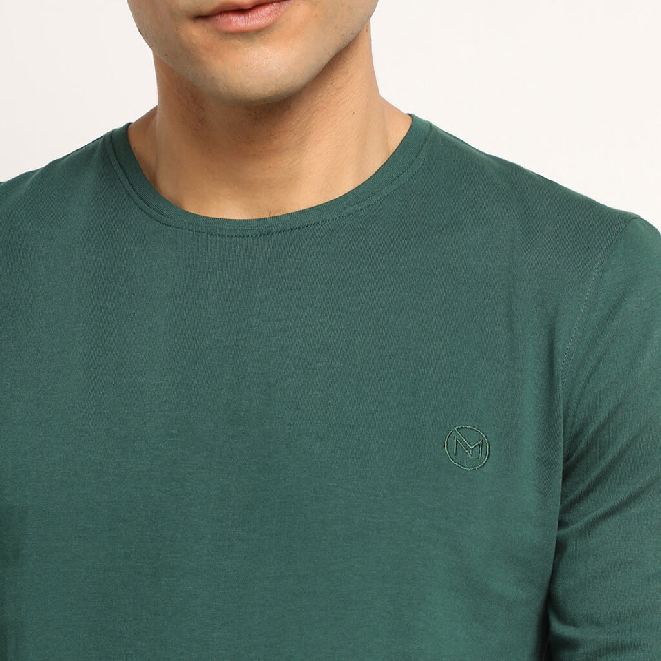 Load image into Gallery viewer, Green tshirt for men