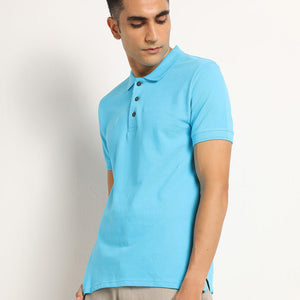 turquoise polo for men