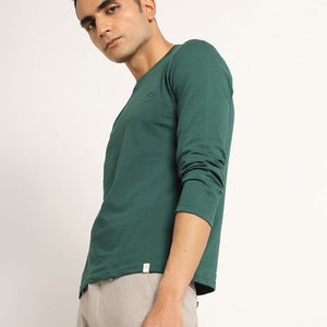 Organic full sleeve crew neck for men