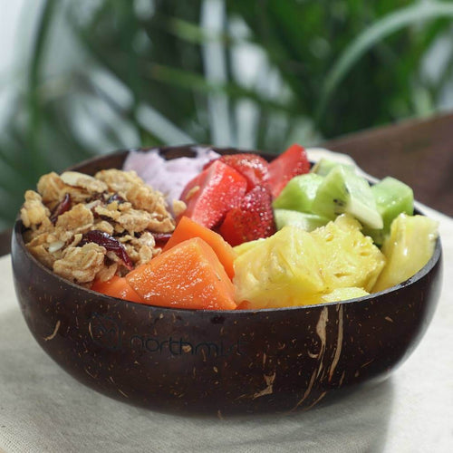 coconut shell big bowl sustainable product eco friendly product