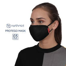 Load image into Gallery viewer, NorthMist Protego Mask- Pack of 3 (Unisex)