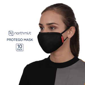 NorthMist Protego Face Cover- Pack of 10 (Unisex)