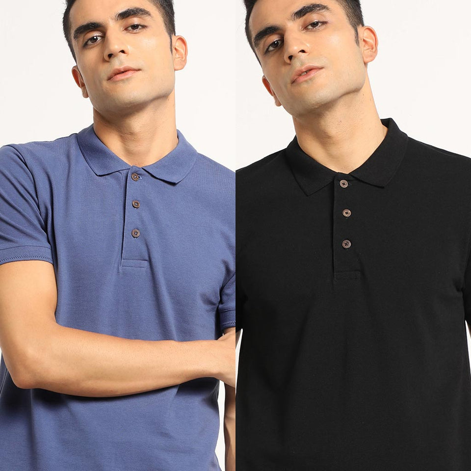 Load image into Gallery viewer, polo T-shirt combo pack