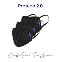 Load image into Gallery viewer, protego mask 2.0 for women