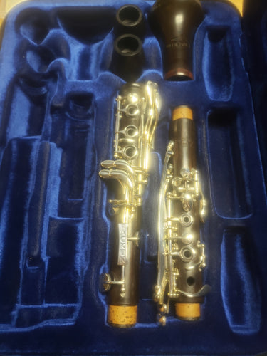 Backun Model Bb Clarinet Grenadilla/Silver, N.O.S.