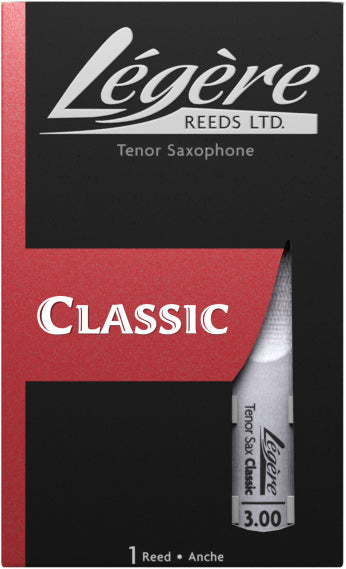 Legere Tenor Saxophone Classic Reed