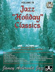 Jazz Holiday Classics- Aebsersold Volume 78