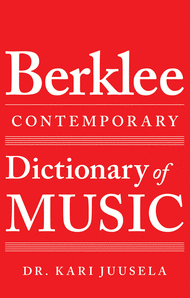 The Berklee Contemporary Dictionary of Music