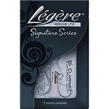 Legere Bb Clarinet European Signature Reed