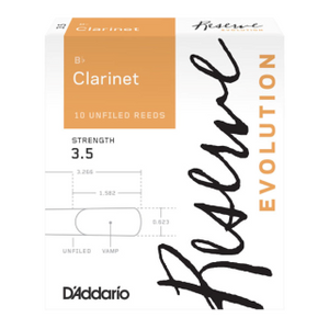 Reserve Evolution Bb Clarinet Reeds