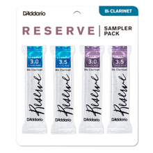 Load image into Gallery viewer, Reserve Bb Clarinet Reed Sampler Packs