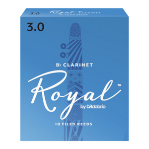 Royal by D'Addario Bb Clarinet Reeds