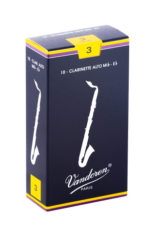 Vandoren Traditional Alto Clarinet Reeds- Box of 10