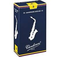 Vandoren Traditional Alto Saxophone Reeds- Box of 10