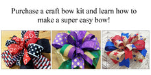 Load image into Gallery viewer, Spring Bunny DIY Bow Kit - Designer DIY