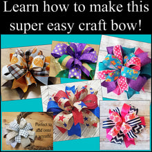 Load image into Gallery viewer, Coral & Sage Cactus DIY Craft Bow Kit - Designer DIY