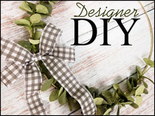 Load image into Gallery viewer, Eucalyptus Wreath - Designer DIY