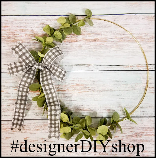 Eucalyptus Wreath - Designer DIY