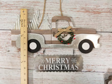 Load image into Gallery viewer, Merry Christmas Vintage Truck Sign - Designer DIY