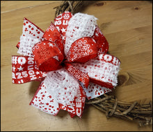 Load image into Gallery viewer, Christmas Snowflake DIY Craft Bow Kit - Designer DIY