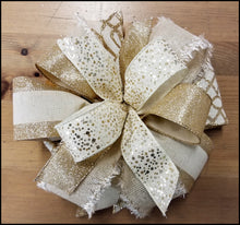 Load image into Gallery viewer, Champagne DIY Craft Bow Kit - Designer DIY