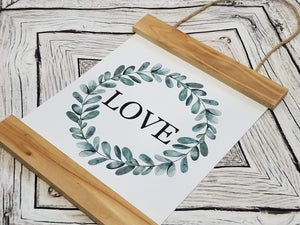 Love Eucalyptus Sign - Designer DIY