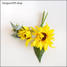 Load image into Gallery viewer, Sunflower Floral Pick