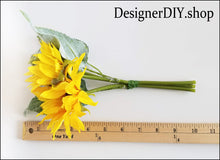 Load image into Gallery viewer, Sunflower Floral Pick - Designer DIY