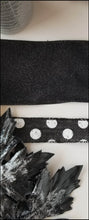 Load image into Gallery viewer, Black & Gray Halloween DIY Wreath Kit - Designer DIY