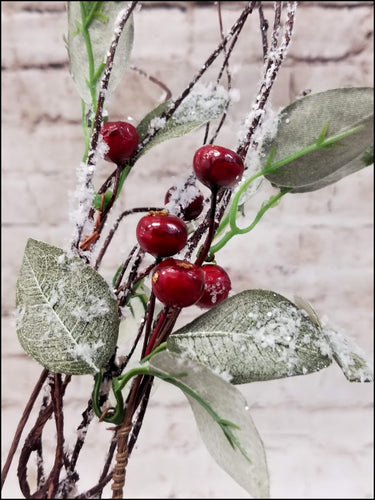 Christmas Frosted Berry Pick - Designer DIY
