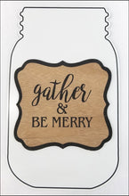 Load image into Gallery viewer, Gather & Be Merry Holiday DIY Wreath Kit - Designer DIY