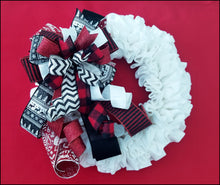 Load image into Gallery viewer, Woodland Christmas Handmade Bow - Designer DIY