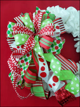 Load image into Gallery viewer, Whimsical Christmas Handmade Bow - Designer DIY